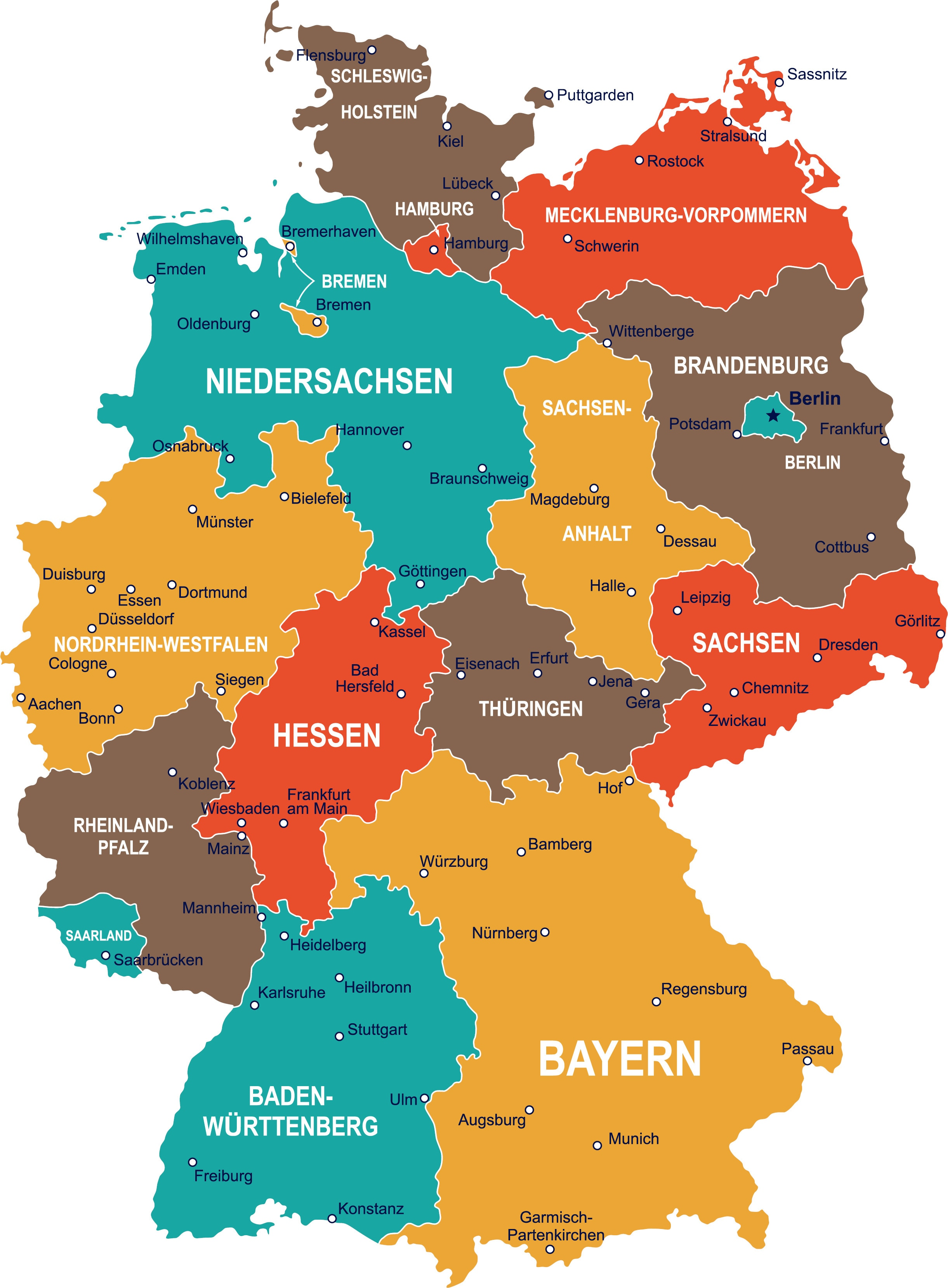 Discover Germany S Regions With Regional Day Tickets Lander Tickets