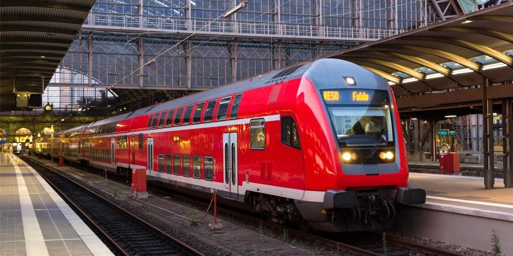 Discover regions on Deutsche Bahns regional trains