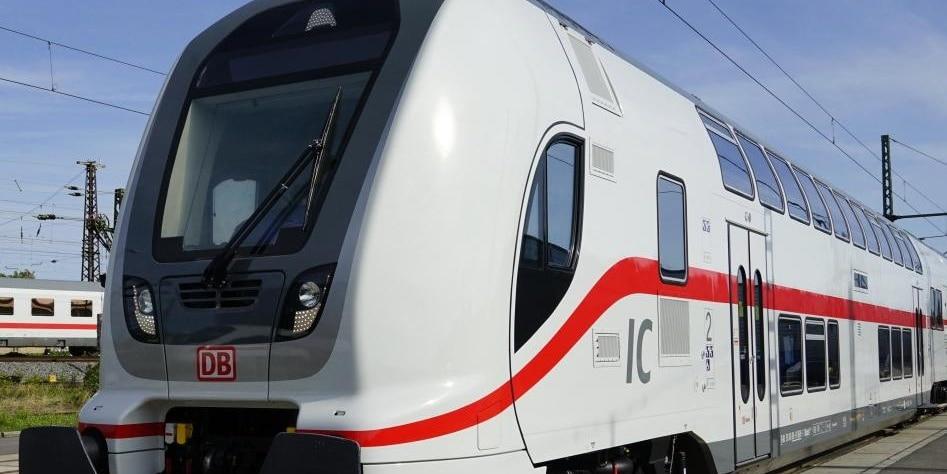 Deutsche Bahn's Intercity (IC) and Eurocity (EC) trains